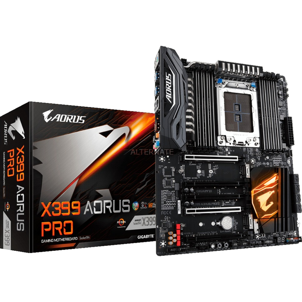 X399 AORUS PRO (rev. 1.0) placa base Socket TR4 ATX AMD X399