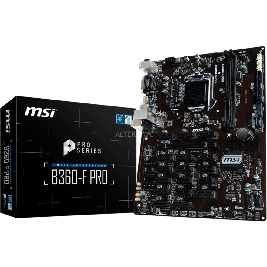B360-F PRO LGA 1151 (Zócalo H4) Intel B360 ATX, Placa base