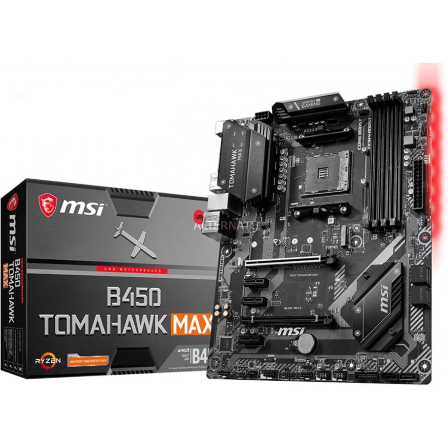 B450 TOMAHAWK MAX placa base Zócalo AM4 ATX AMD B450