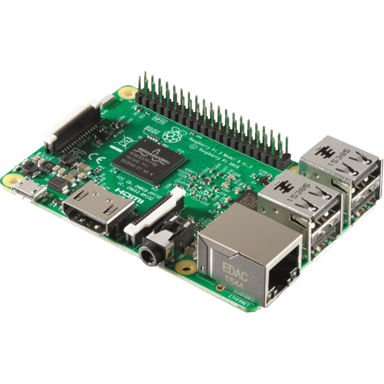 Raspberry Pi 3 model B, Placa base