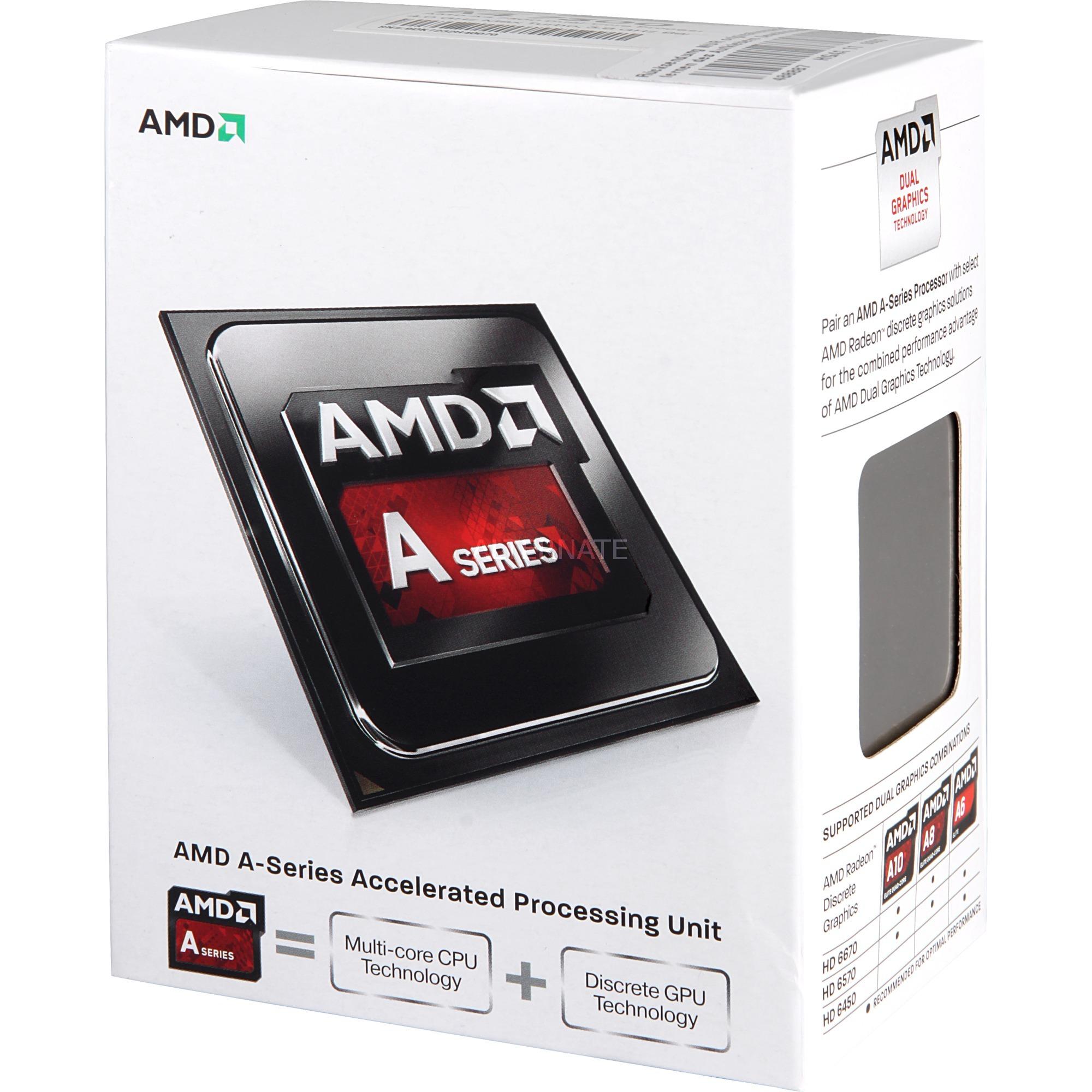 A series A4-7300 3.8GHz 1MB L2 Caja procesador