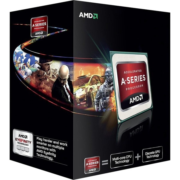 A series A6-6420K Black Edition 4GHz 1MB L2 Caja procesador