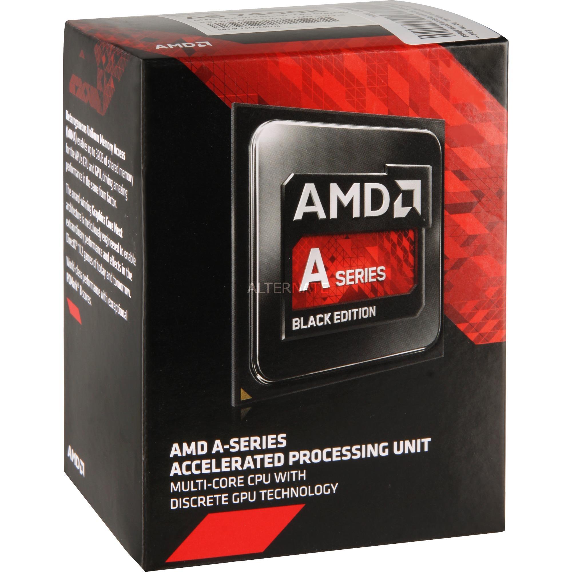 A series A6-7400K black 3.5GHz 2MB L2 Caja procesador