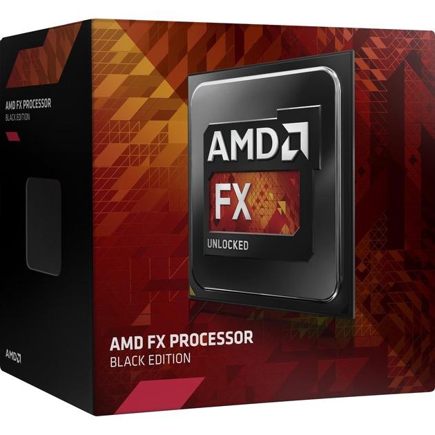 FX 8320E Black Edition 3.2GHz 8MB L3 Caja procesador