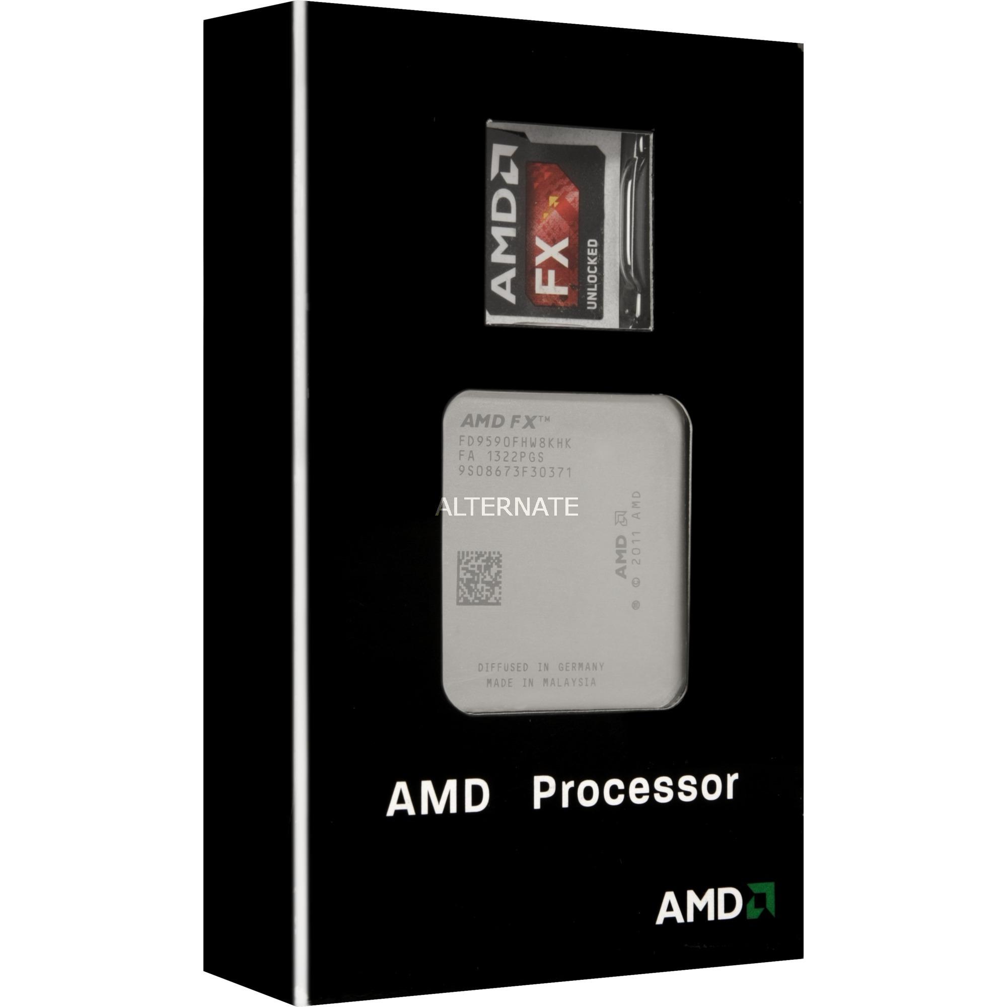 FX 9590 4.7GHz Caja procesador
