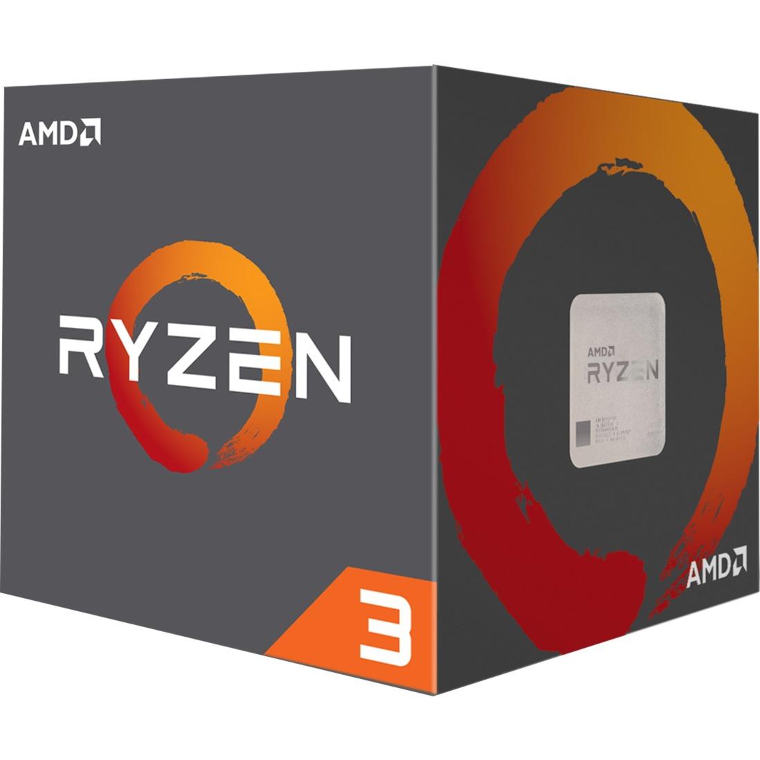 Ryzen 3 1300X 3.5GHz 8MB L3 Caja procesador