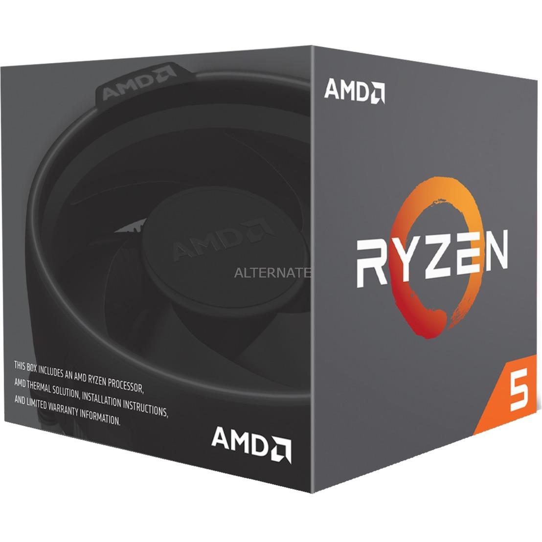 Ryzen 5 2600 procesador 3,4 GHz Caja 16 MB L3