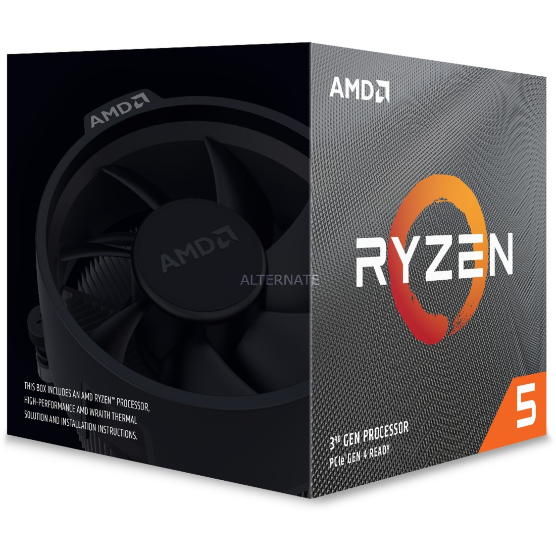 Ryzen 5 3600X procesador 3,8 GHz Caja 32 MB L3