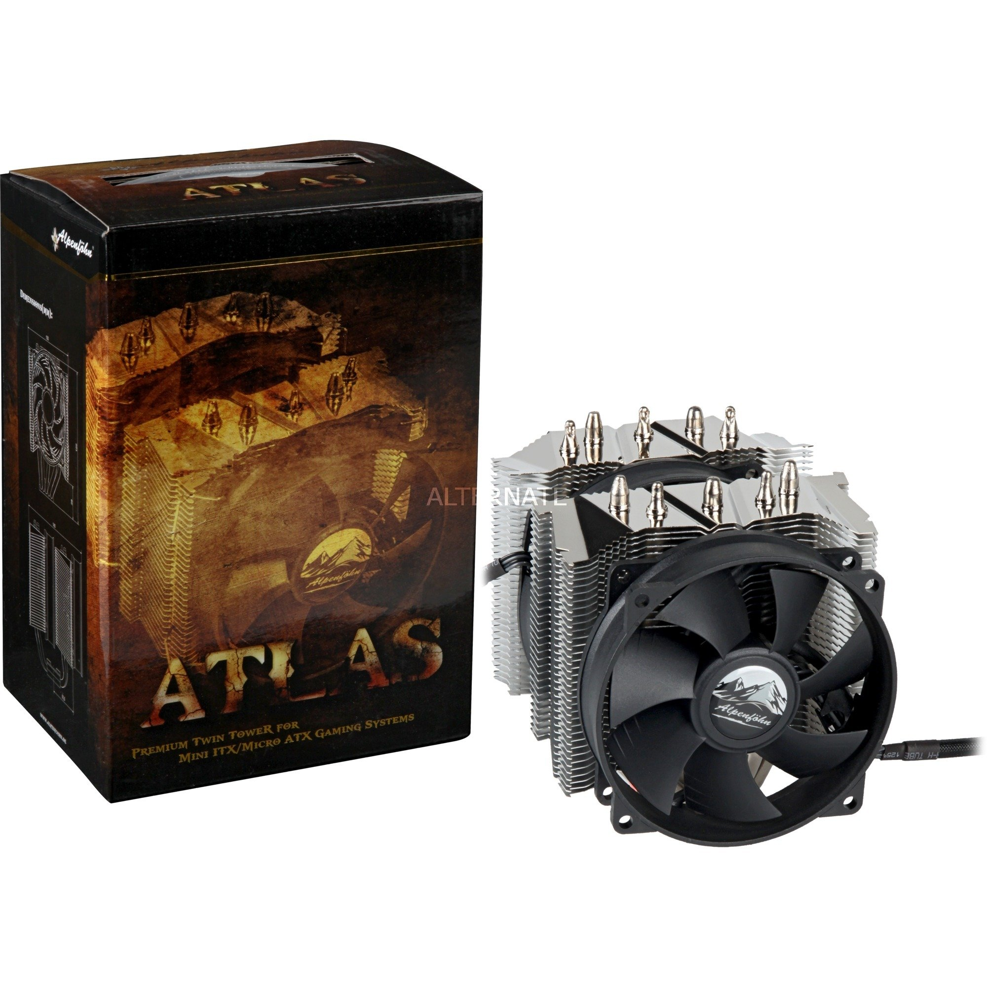 Alpenföhn ATLAS Procesador Enfriador, Disipador de CPU