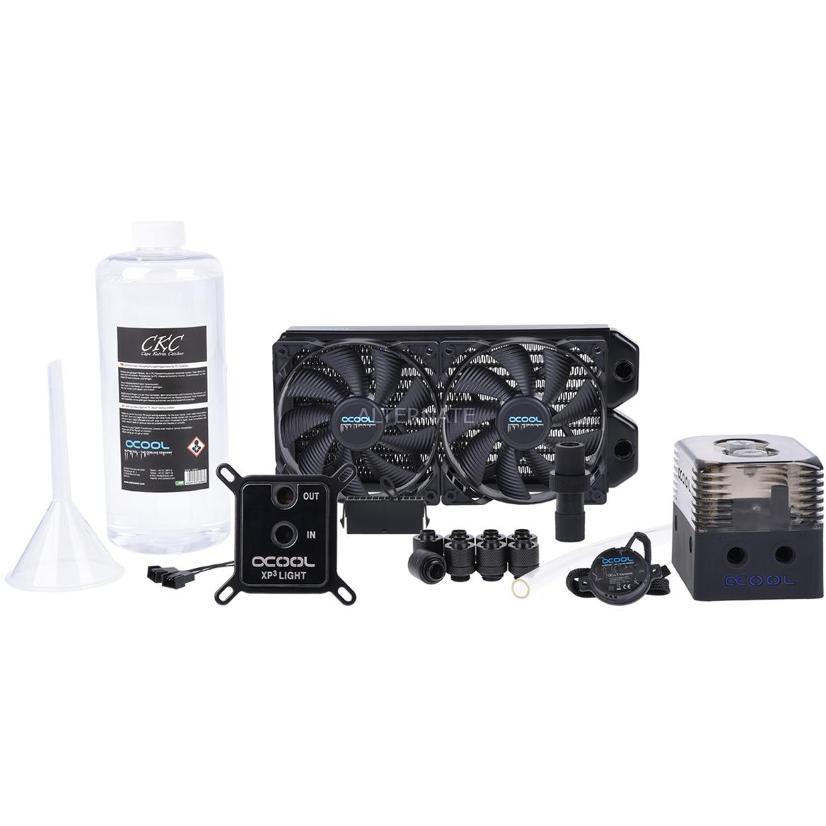 11466 refrigeración agua y freón Procesador, Refrigeración por agua