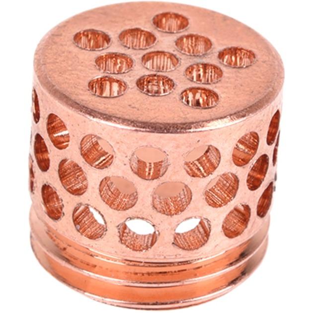 Bubble Down G1/4 - Copper, Indicador de flujo