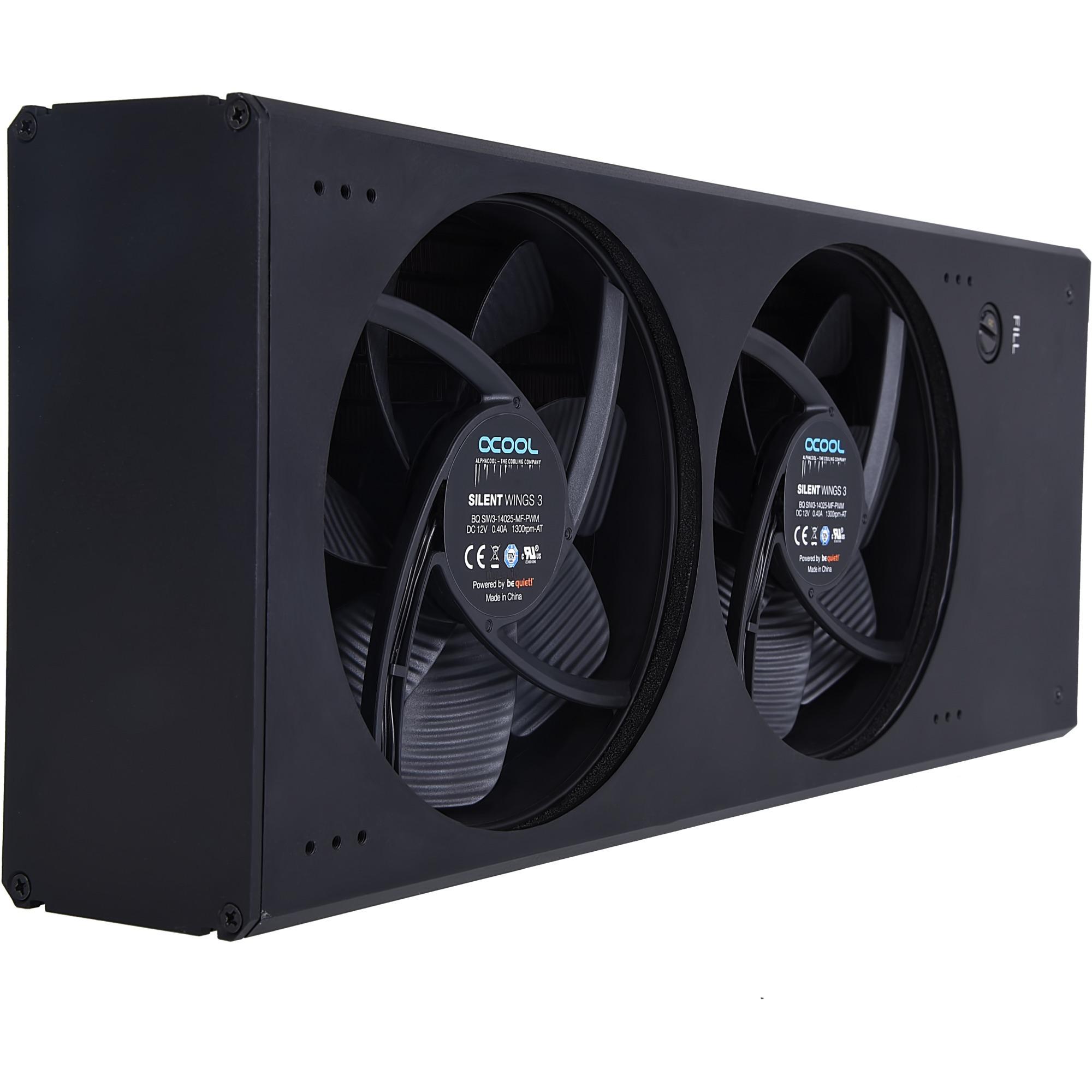 Eisbaer Extreme Liquid Core 280 Black Edition, Radiador