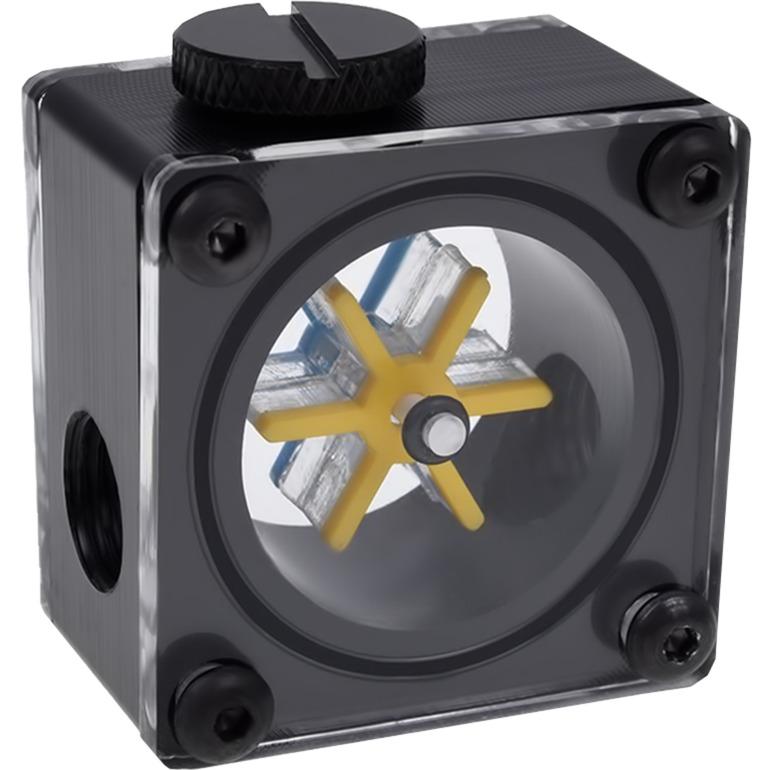 Eisfluegel G1/4 Carcasa del ordenador Bomba, Indicador de flujo