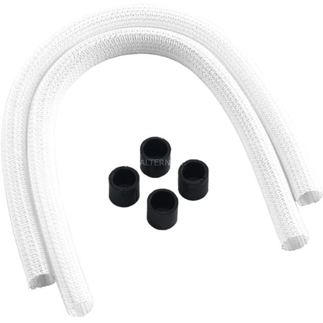 CM-ASK-S2KW-R AIO - Kit de Funda para Coche (Serie 2), Color Negro Blanco, Modding