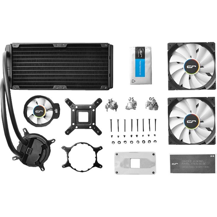 A40 Procesador refrigeración agua y freón, Refrigeración por agua