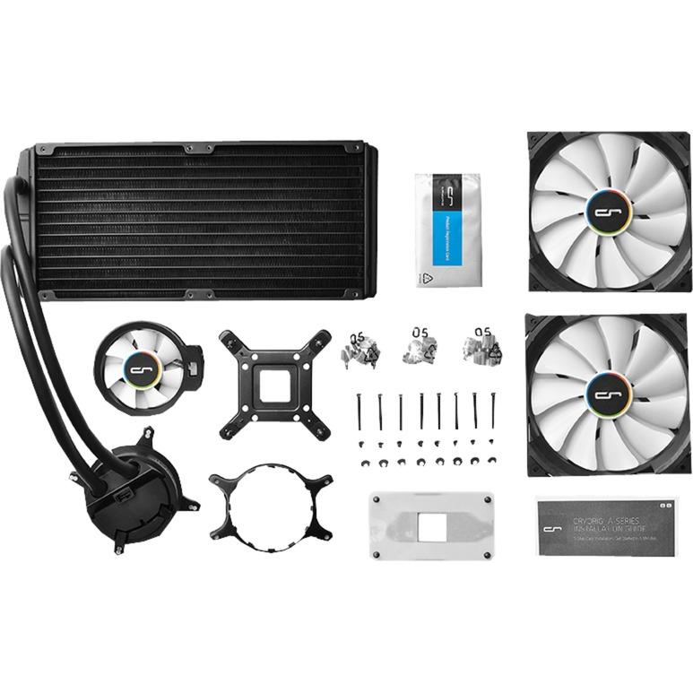 A80 Procesador refrigeración agua y freón, Refrigeración por agua