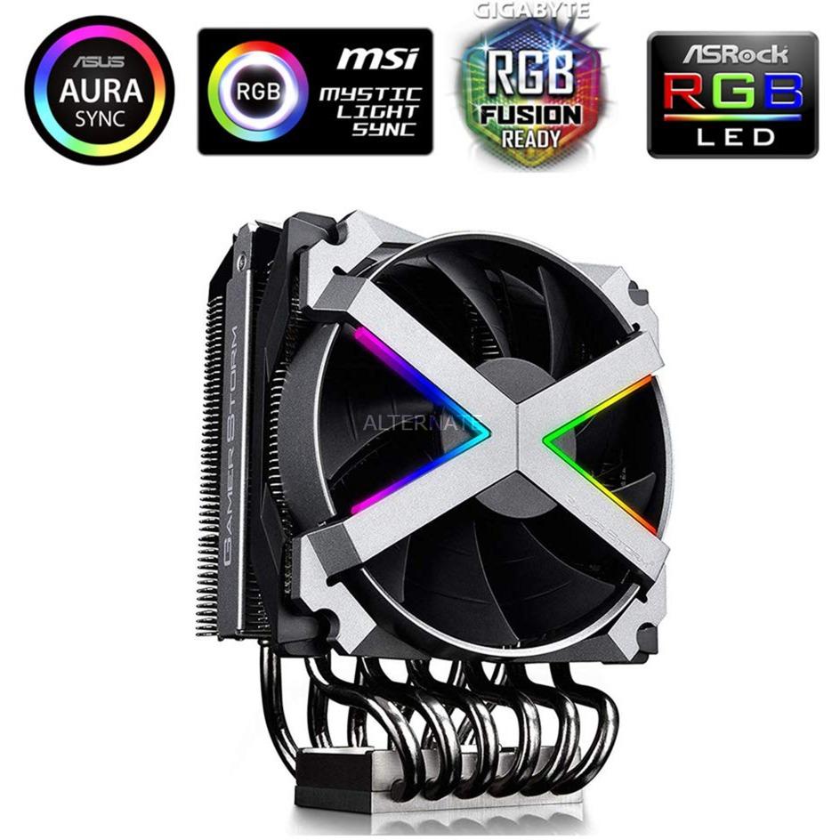 DP-GS-MCH6N-FZN-A ventilador de PC Procesador, Disipador de CPU