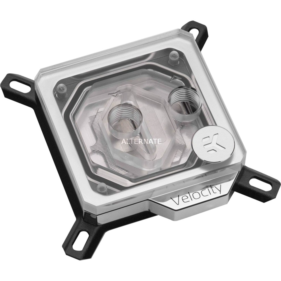 3831109810347 hardware accesorio de refrigeración Negro, Níquel, Transparente, Disipador de CPU