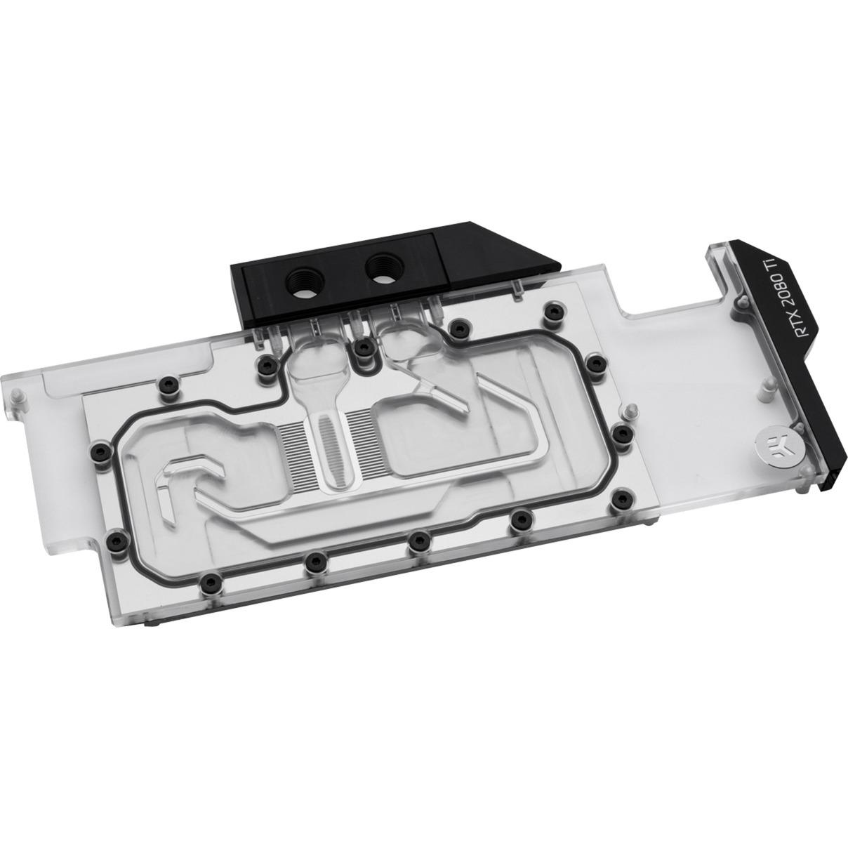 3831109815861 hardware accesorio de refrigeración Negro, Transparente, Refrigeración por agua