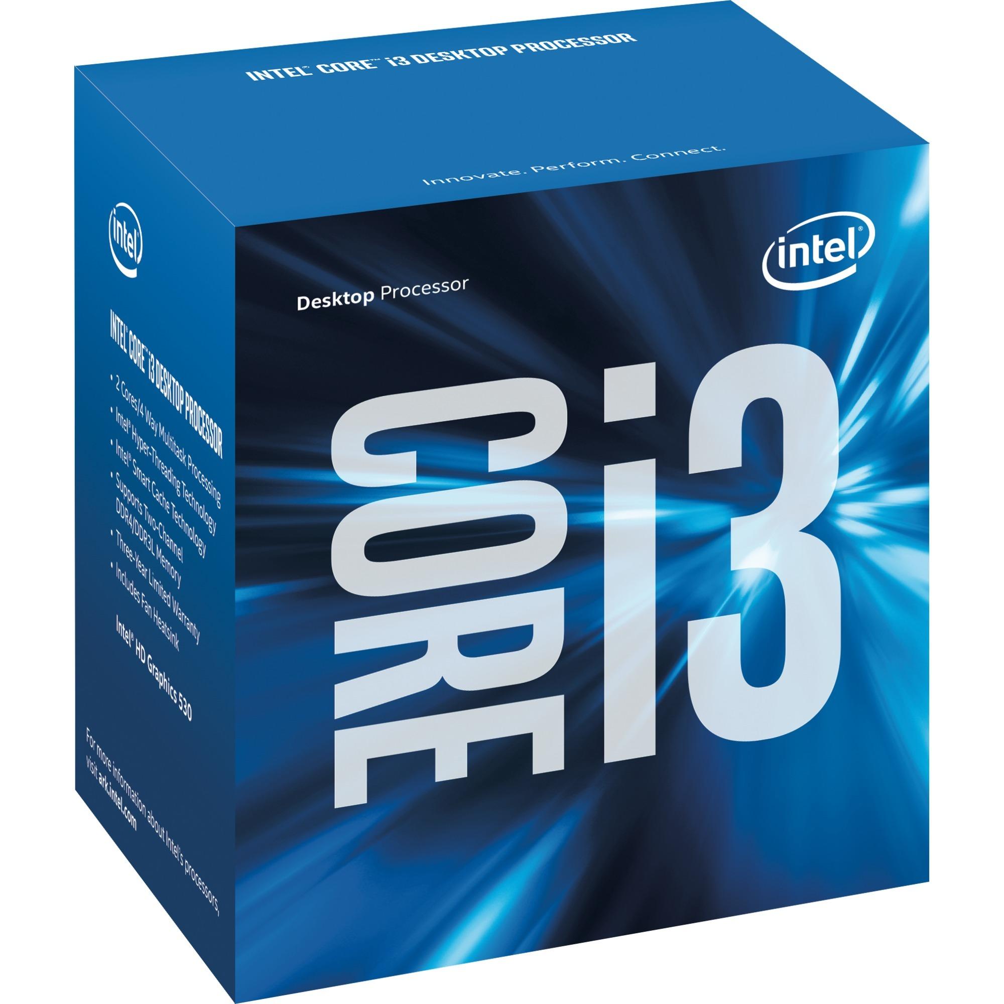 Core i3-6100 Processor (3M Cache, 3.70 GHz) 3.7GHz 3MB L3 Caja procesador