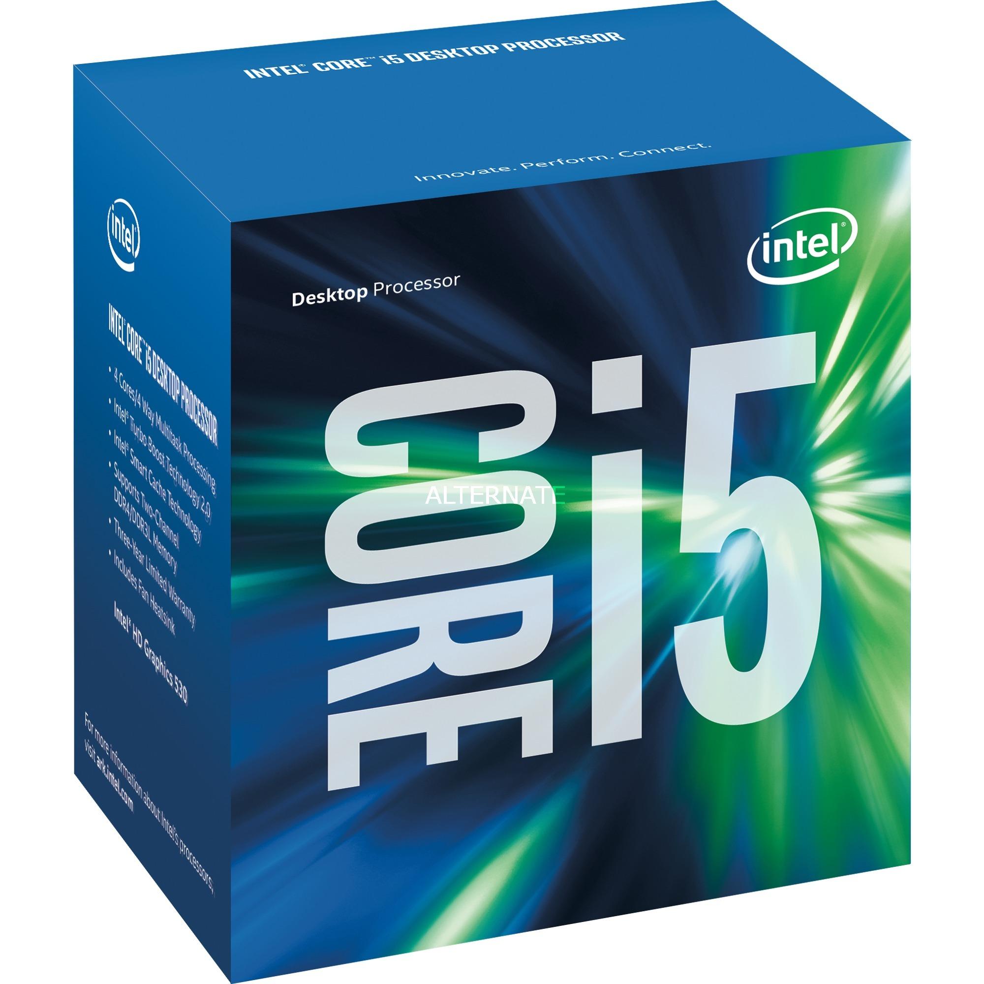 Core i5-6600, Procesador