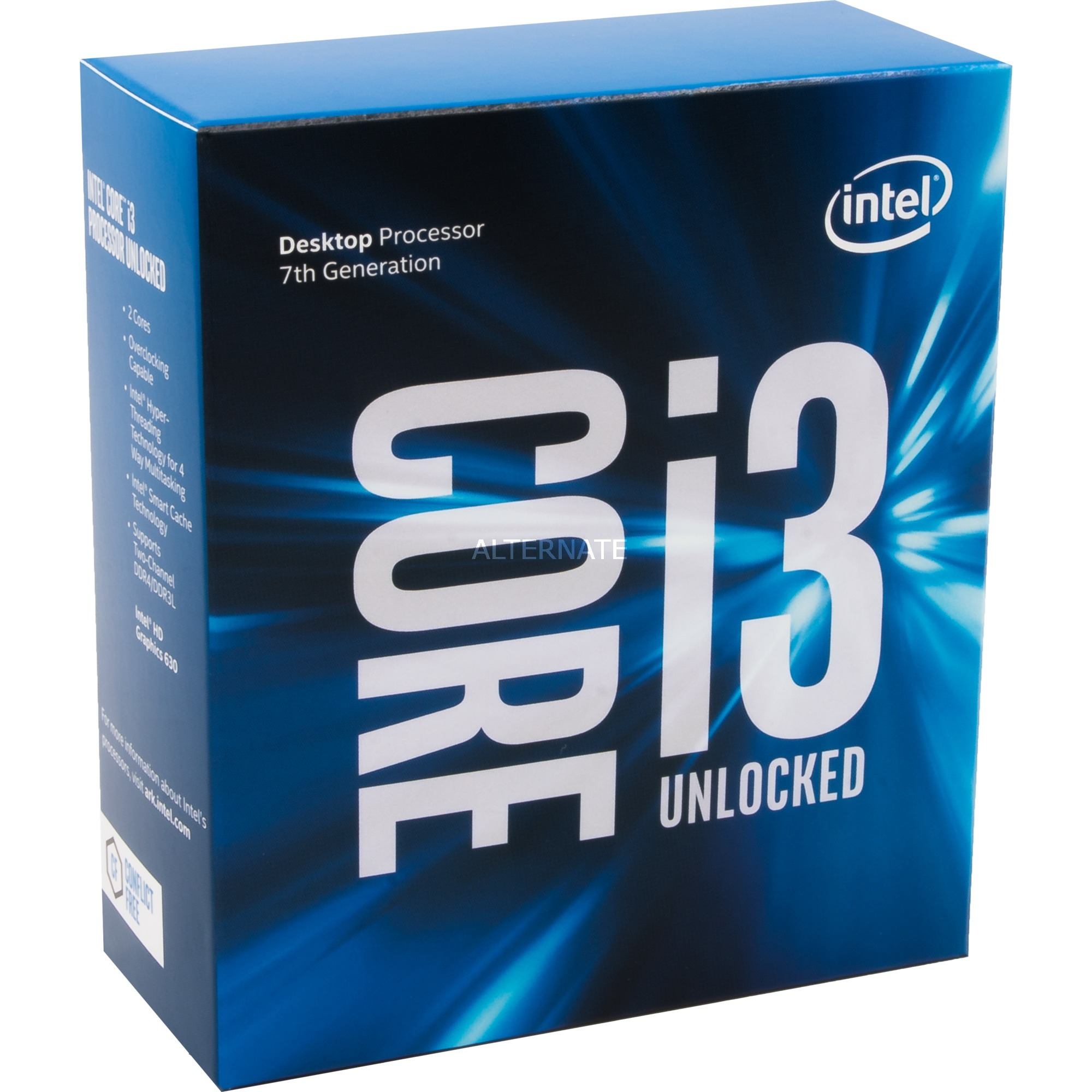 Core i3-7350K , Procesador