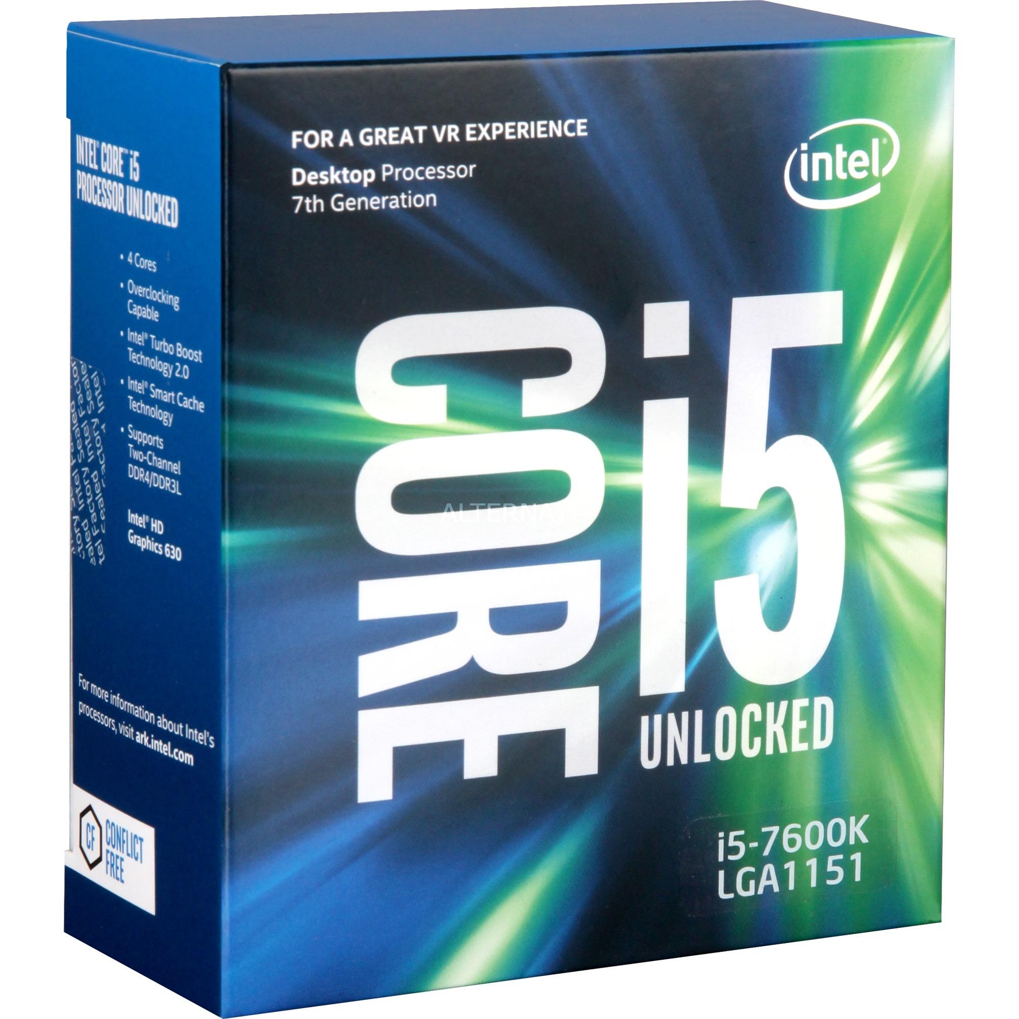 Core i5-7600K, Procesador