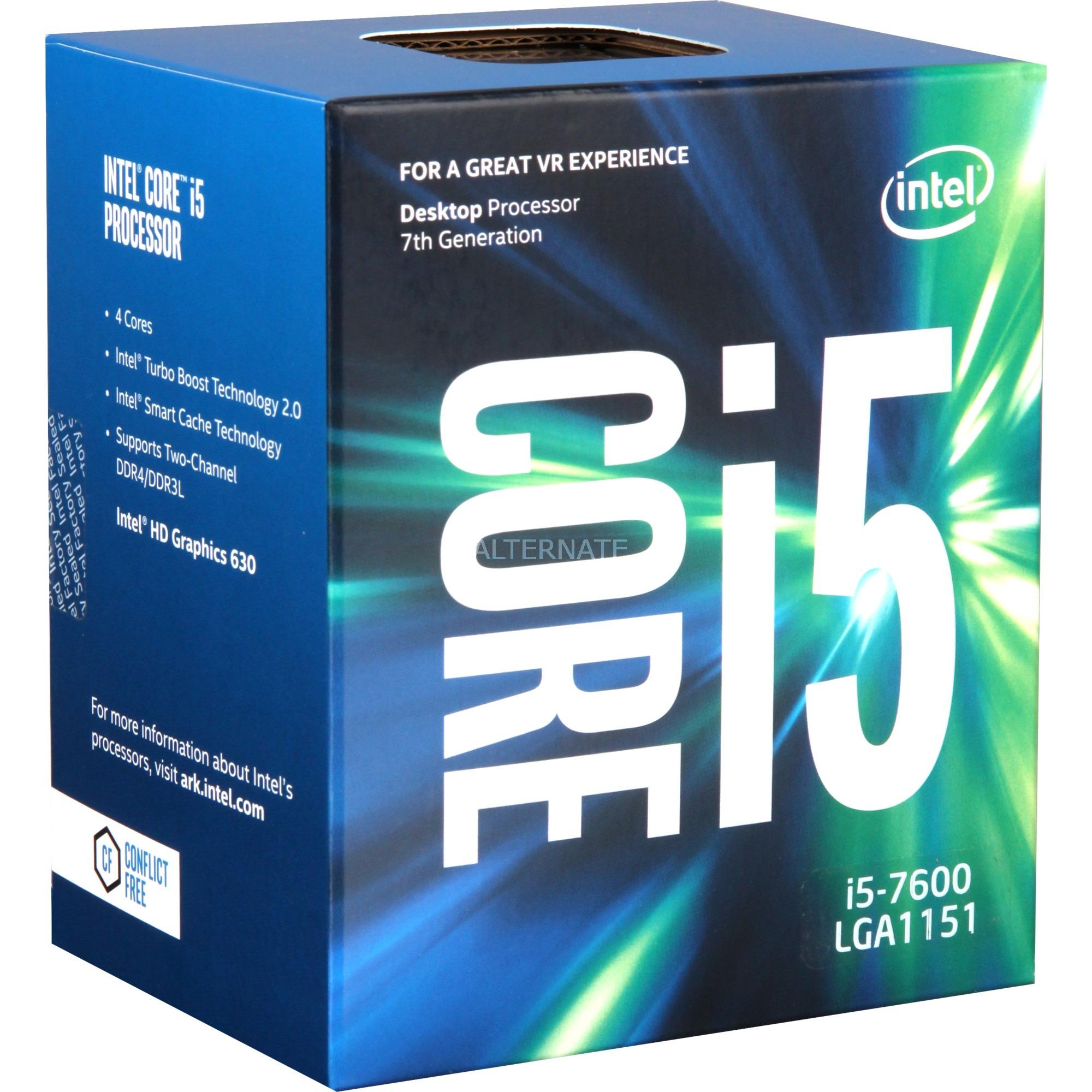 Core i5-7600, Procesador