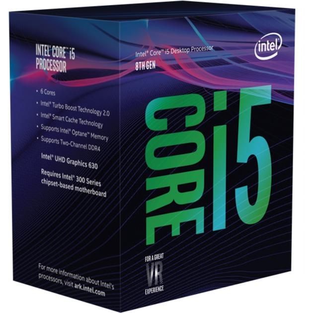 Core i5-8400 procesador 2,8 GHz Caja 9 MB Smart Cache