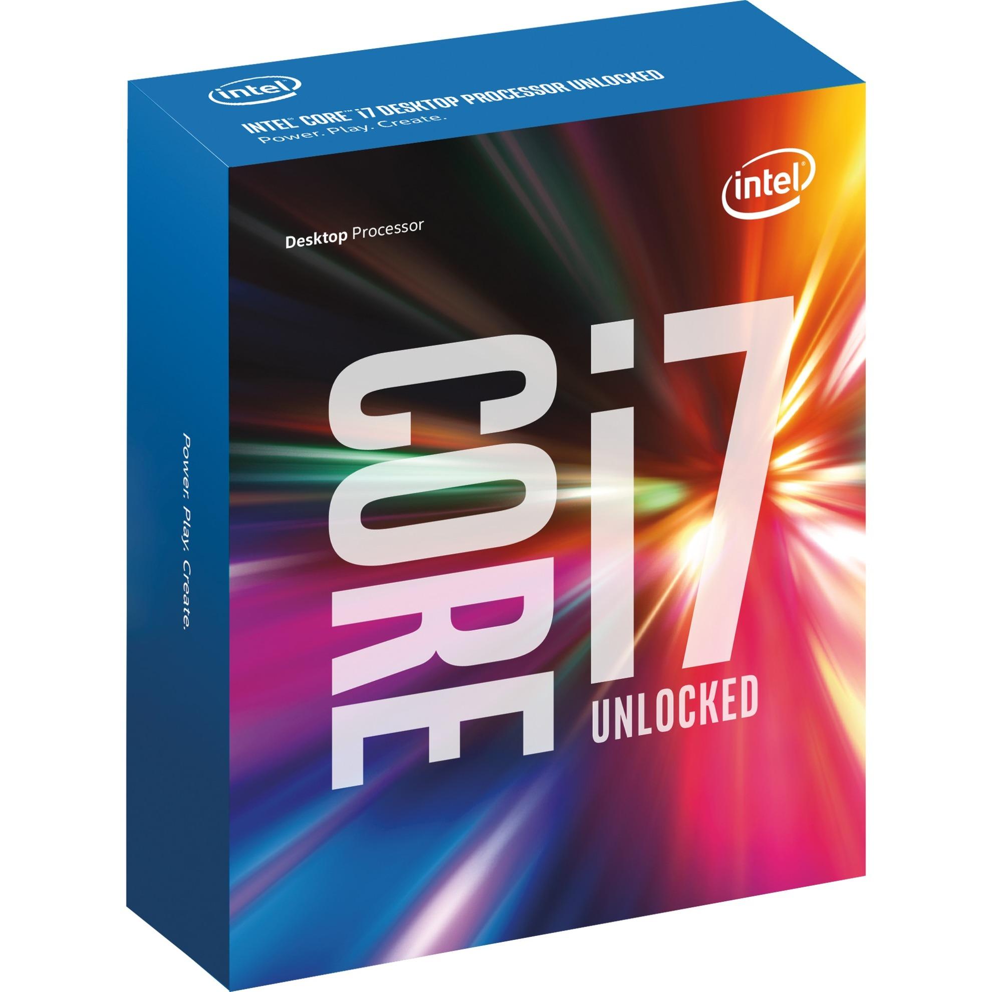 Core i7-6700K Skylake 4.0 GHz (4.2 GHz Turbo Boost)