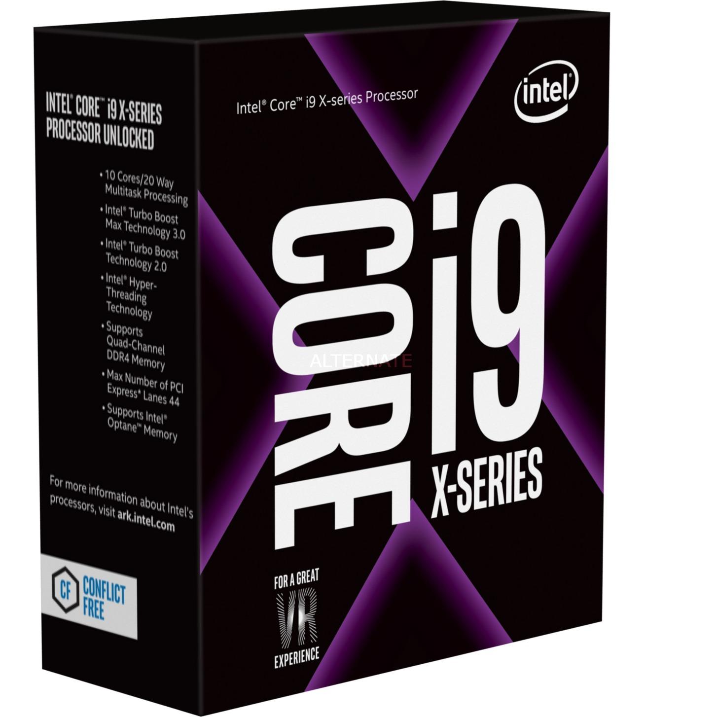 Core i9-7900X 3300 2066 BOX , Procesador