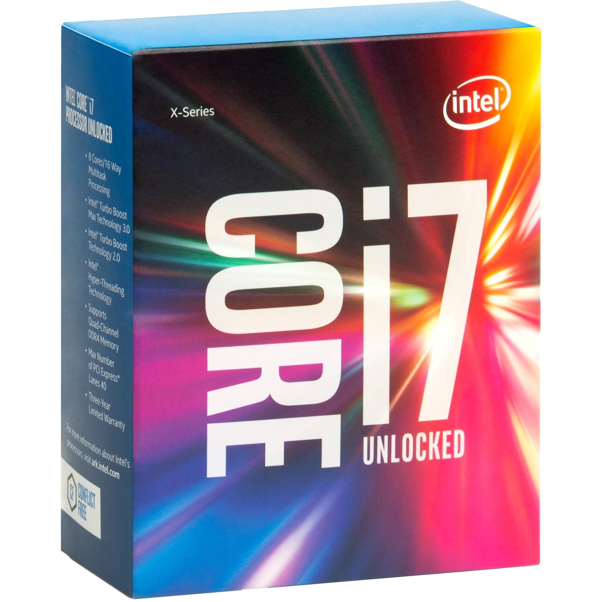 i7-6800K BOX, Procesador