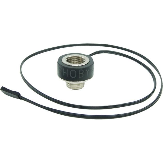 71170 hardware accesorio de refrigeración Negro, Sensor de temperatura