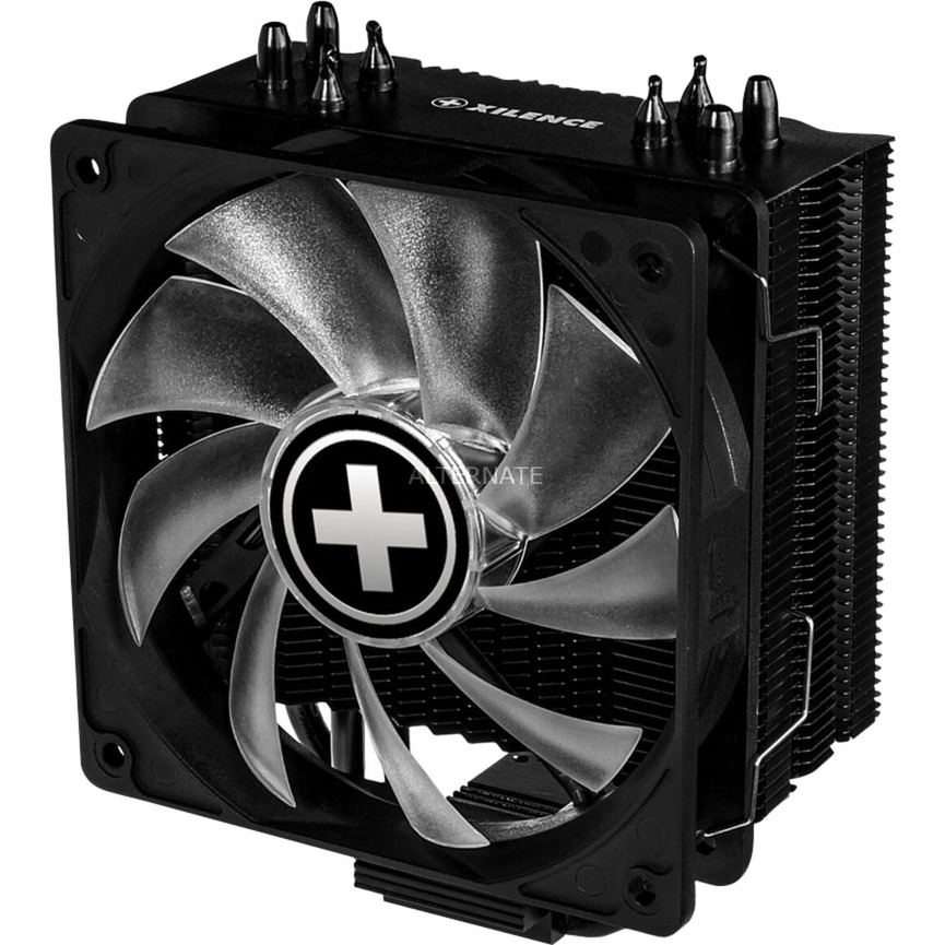 M704RGB ventilador de PC Procesador Enfriador, Disipador de CPU