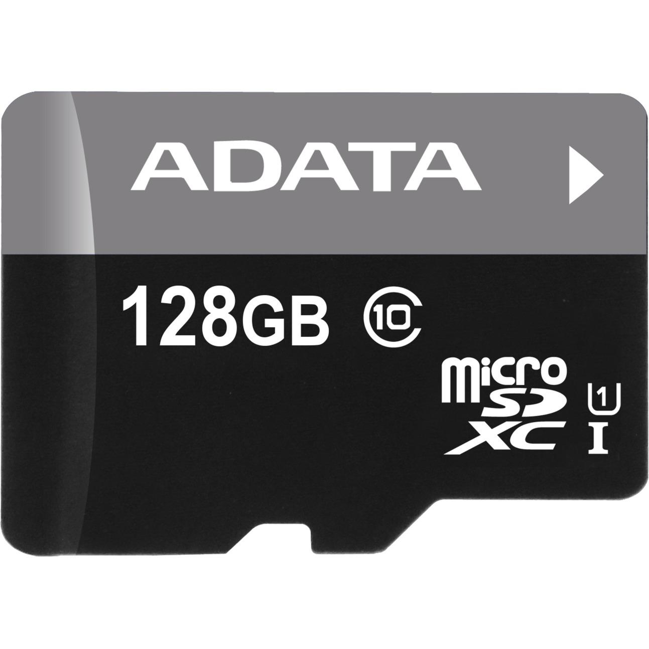 128GB microSDXC + adapter 128GB MicroSDXC UHS-I Clase 10 memoria flash, Tarjeta de memoria