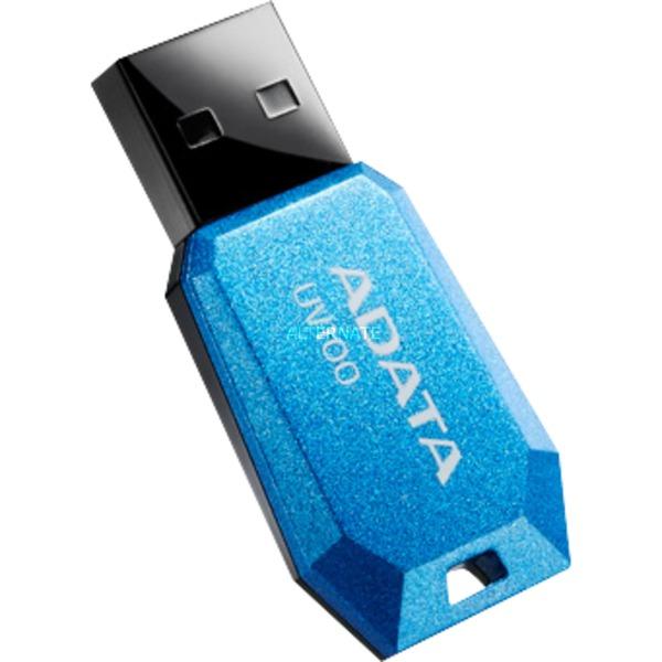 8GB UV100 unidad flash USB 2.0 Conector USB Tipo A Azul, Lápiz USB