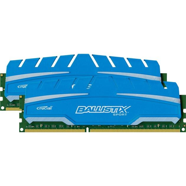 16GB (8x2) DDR3-1600 CL9 16GB DDR3 1600MHz módulo de memoria, Memoria RAM
