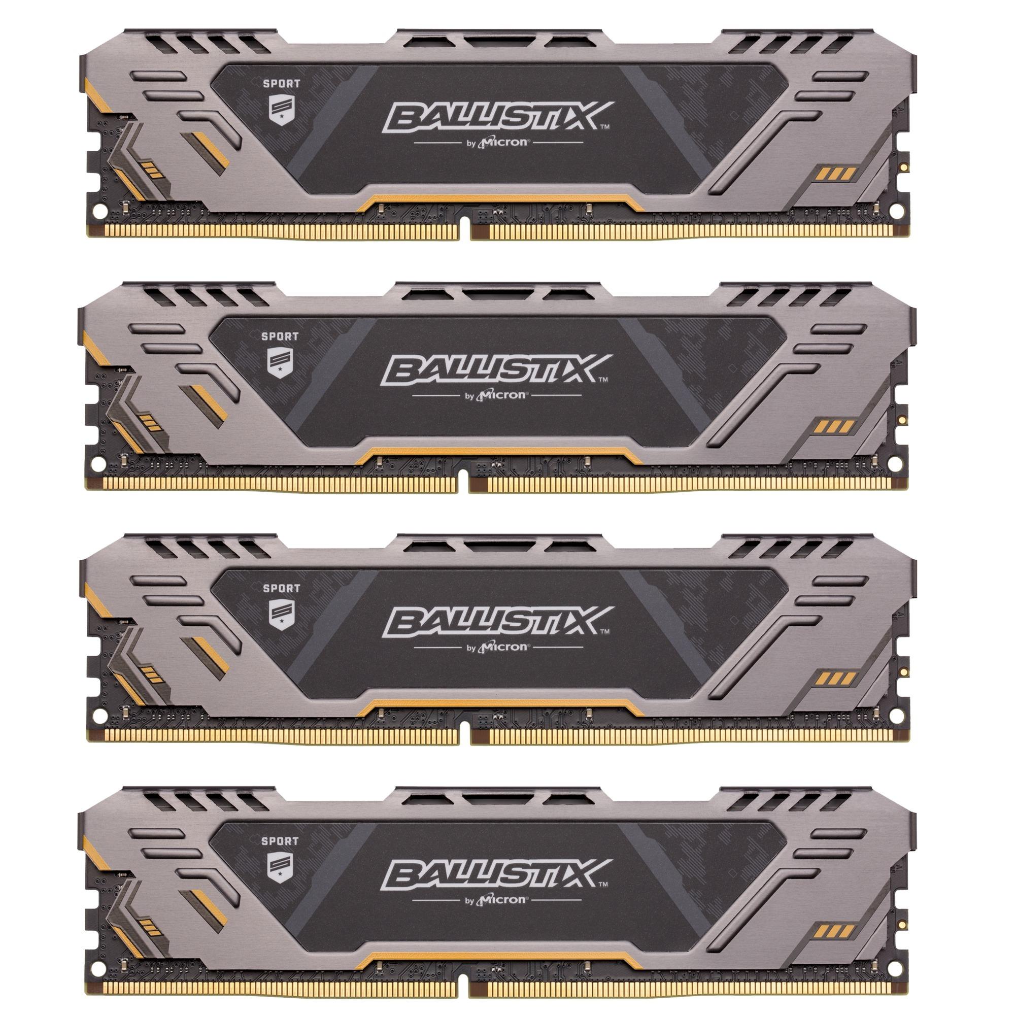 Ballistix Sport AT módulo de memoria 32 GB DDR4 3000 MHz, Memoria RAM