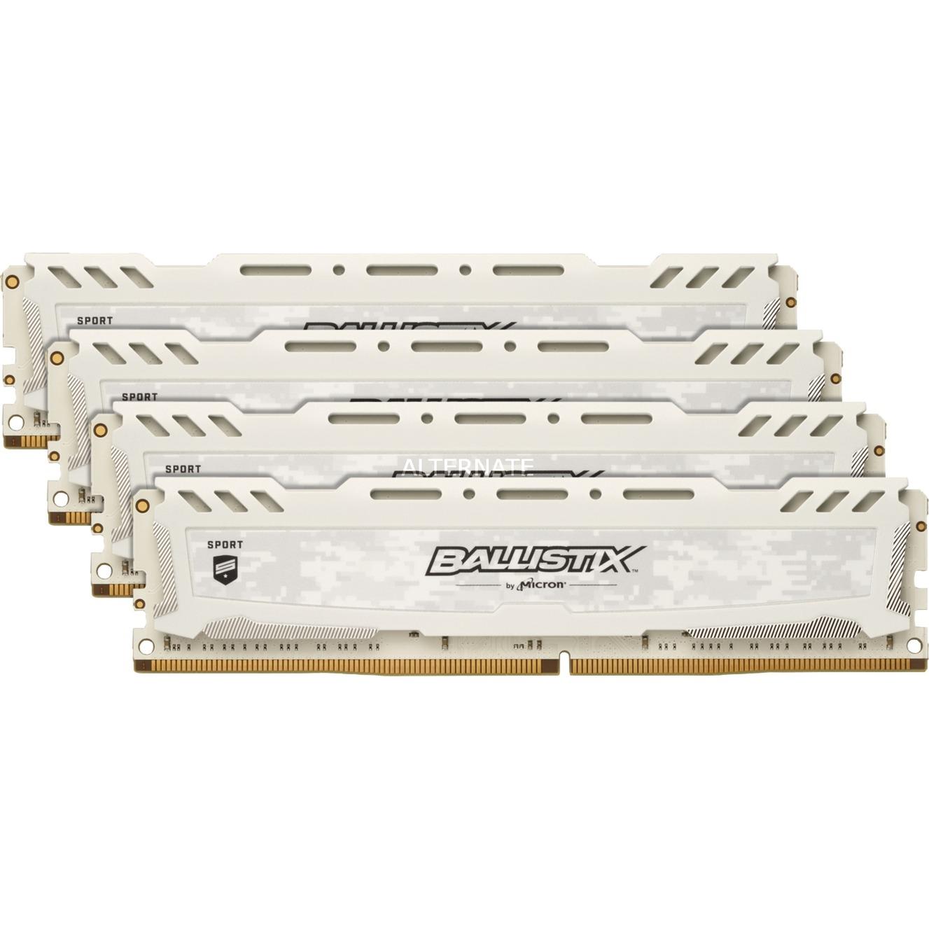 Ballistix Sport LT módulo de memoria 32 GB DDR4 2400 MHz, Memoria RAM
