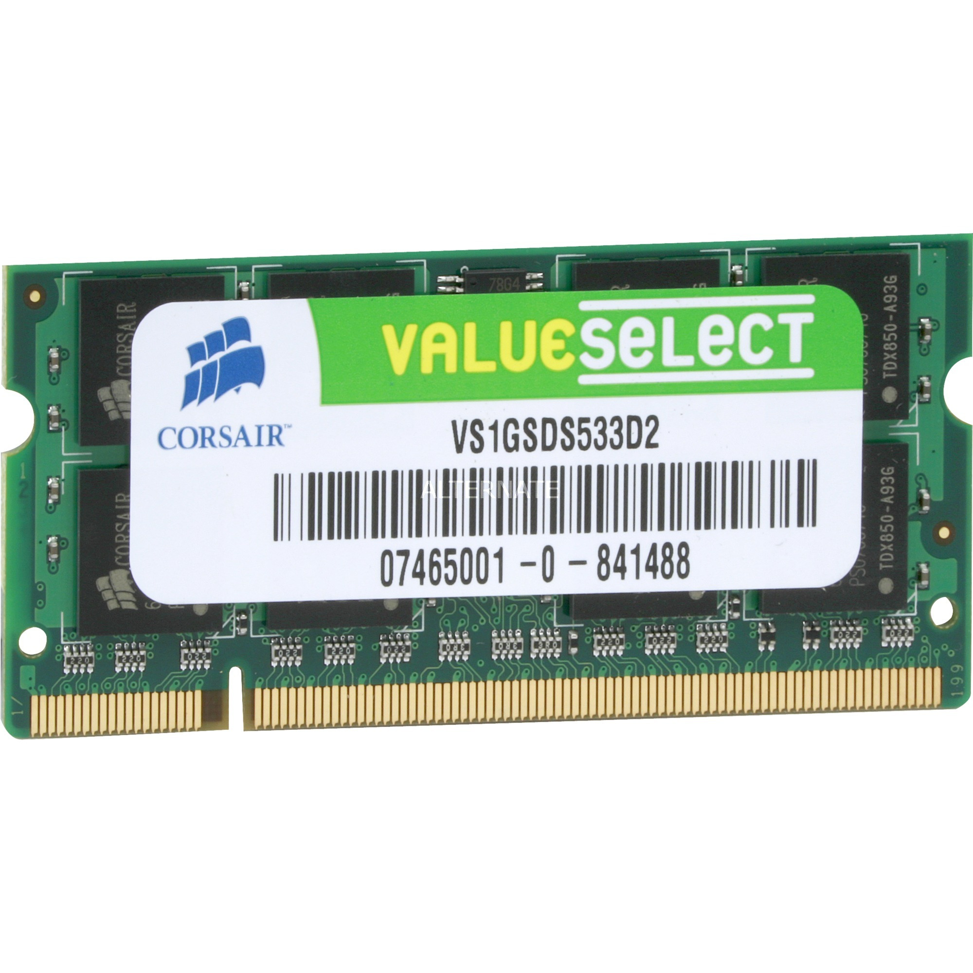 1GB DDR2 SDRAM SO-DIMMs 1GB DDR2 533MHz módulo de memoria, Memoria RAM