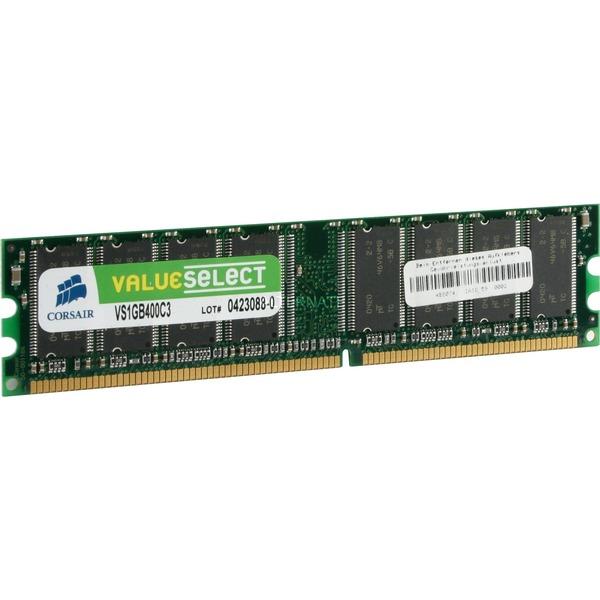 1GB DDR, 400MHz 1GB DDR 400MHz módulo de memoria, Memoria RAM