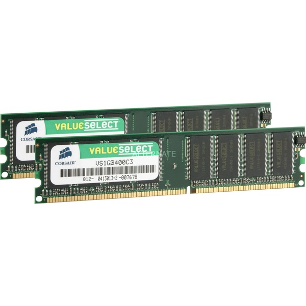 2GB PC3200 SDRAM DIMMs 2GB DDR 400MHz módulo de memoria, Memoria RAM