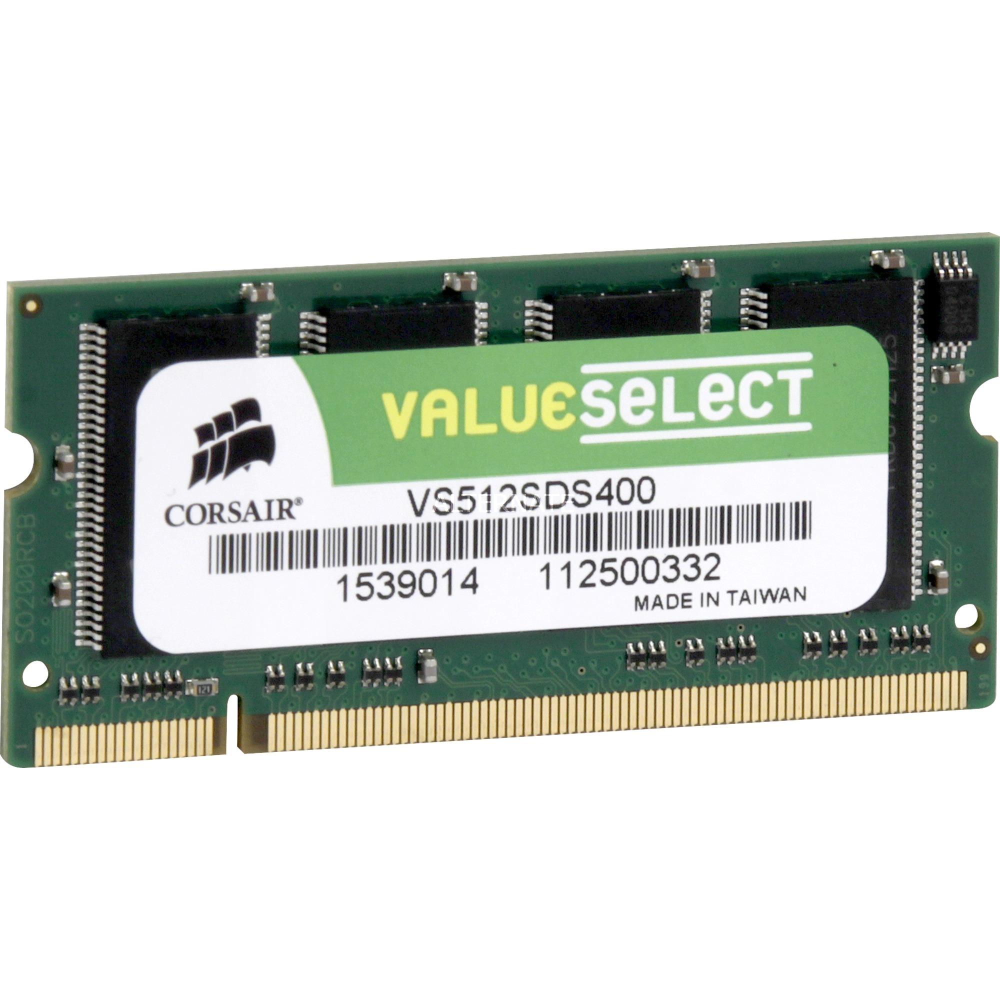512MB DDR SDRAM SO-DIMMs 0.5GB DDR 333MHz módulo de memoria, Memoria RAM