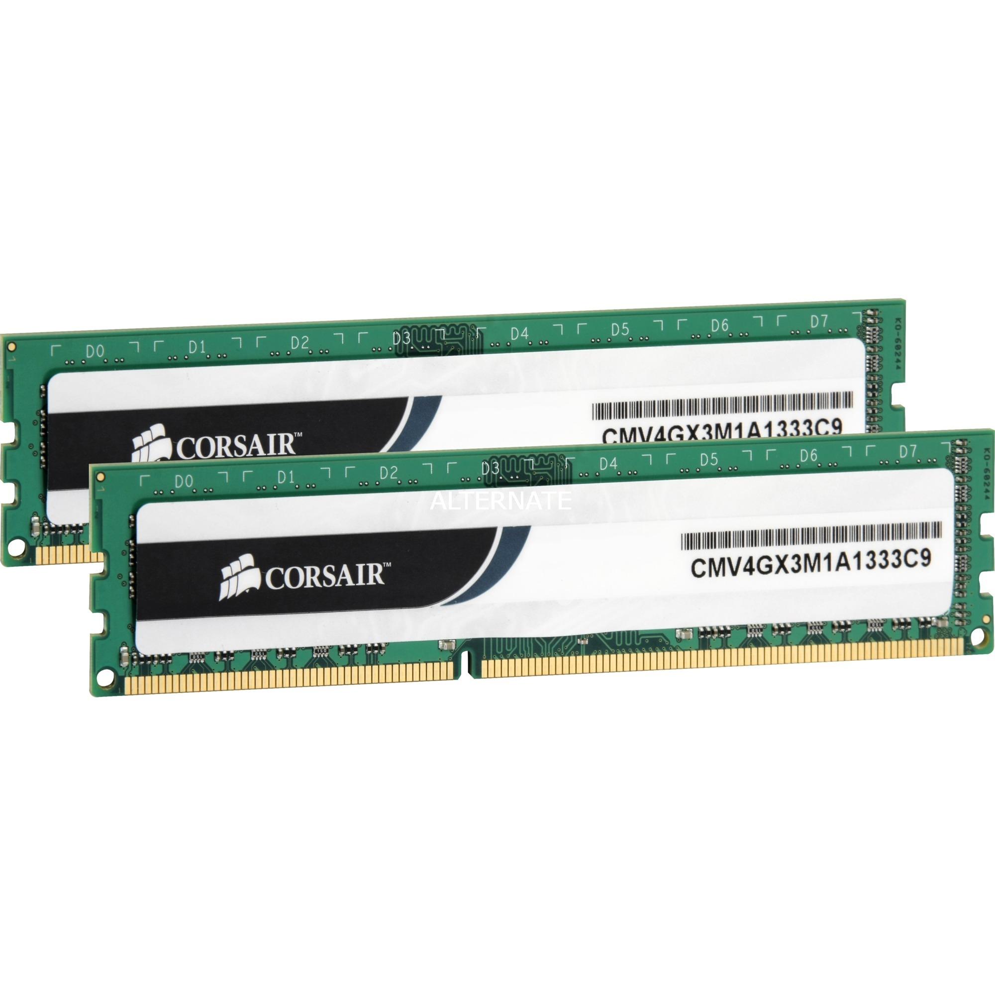 8GB DDR3 1333MHz módulo de memoria, Memoria RAM