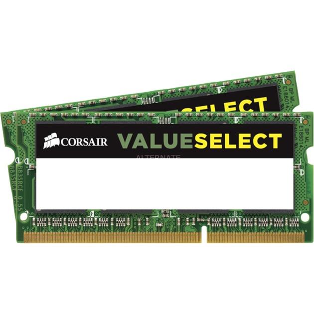 CMSO16GX3M2C1600C11 módulo de memoria 16 GB DDR3 1600 MHz, Memoria RAM