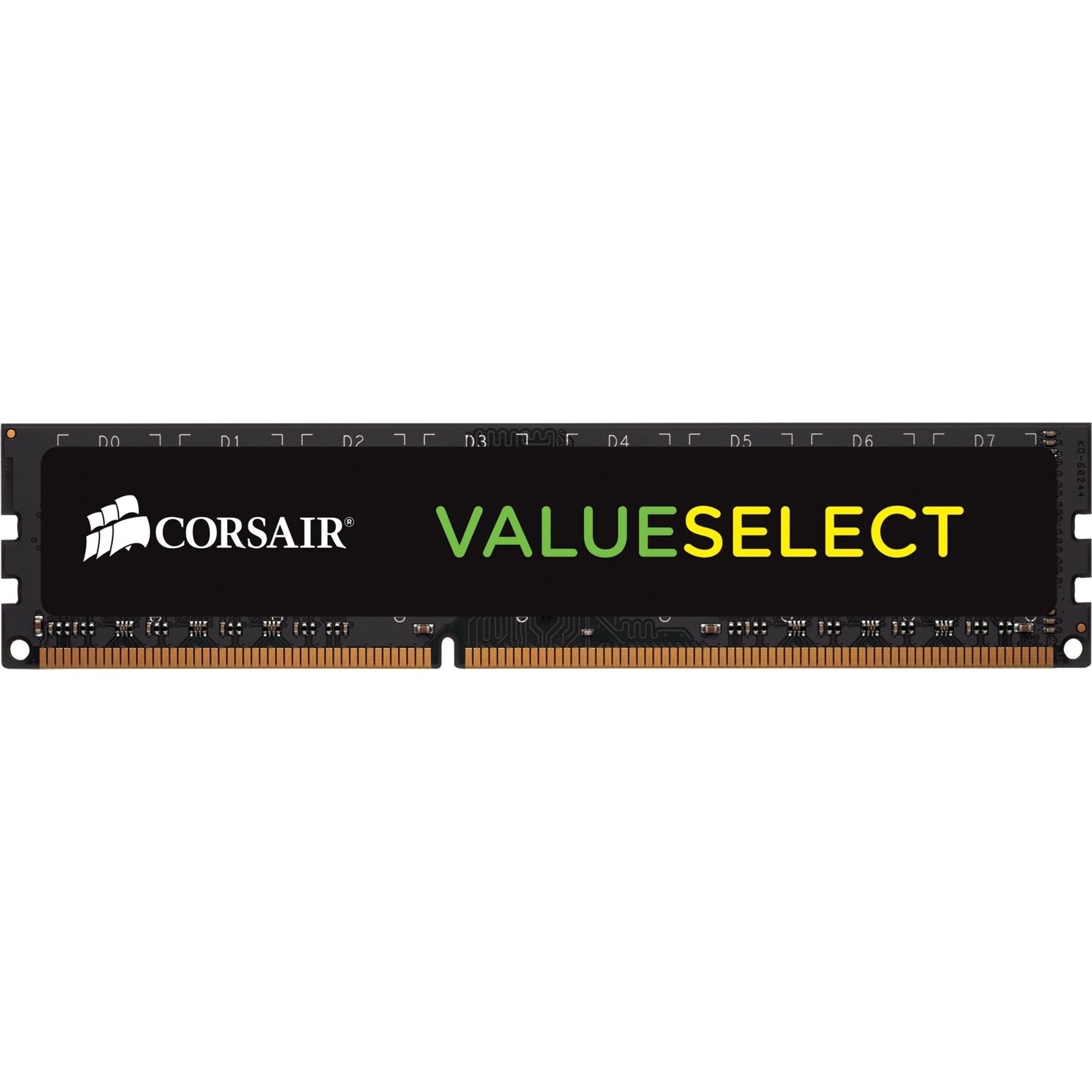 ValueSelect 4 GB, DDR4, 2666 MHz módulo de memoria, Memoria RAM