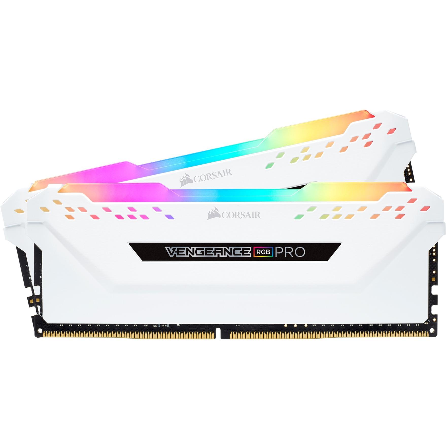 Vengeance CMW16GX4M2A2666C16W módulo de memoria 16 GB DDR4 2666 MHz, Memoria RAM