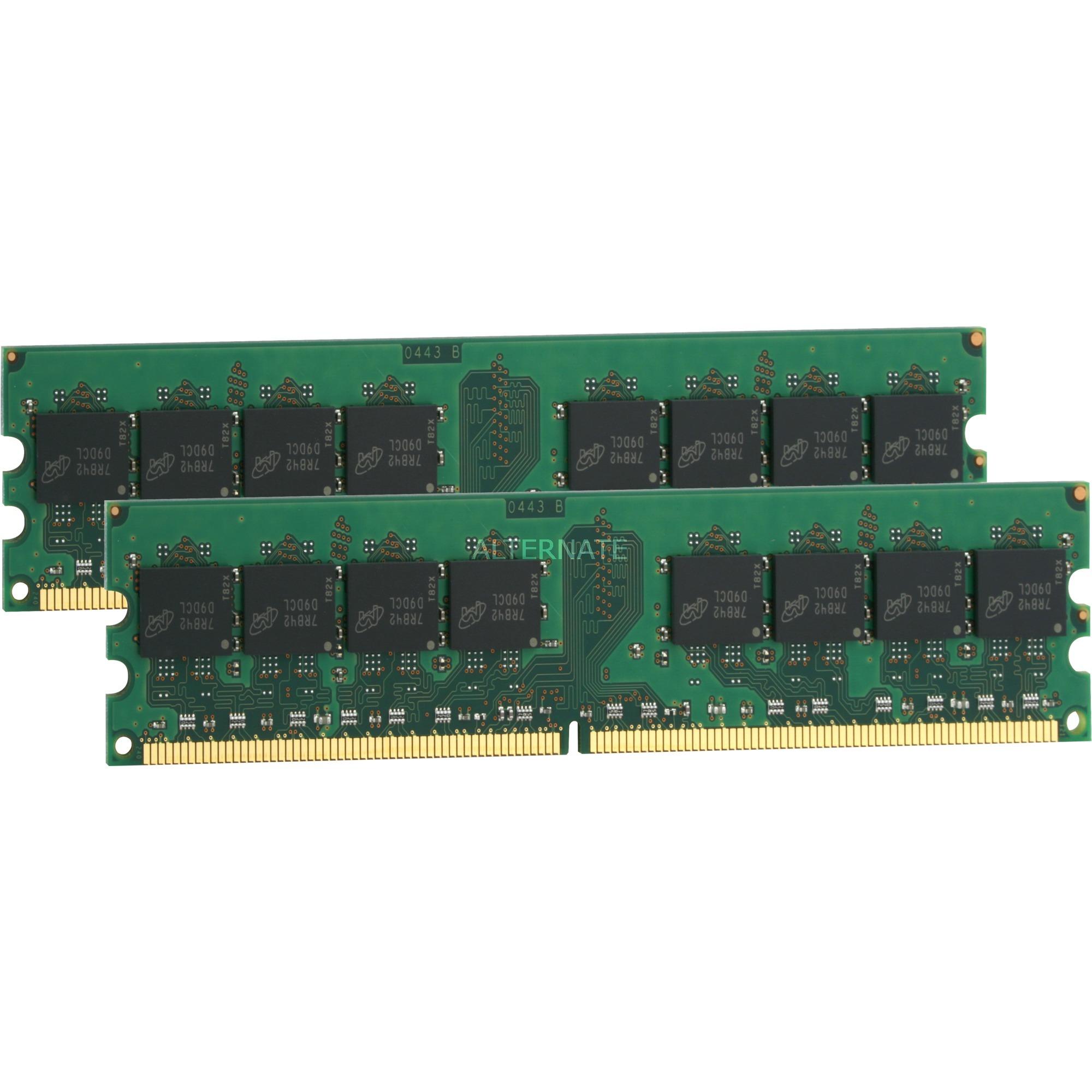 2GB DDR2 UDIMM módulo de memoria 667 MHz, Memoria RAM