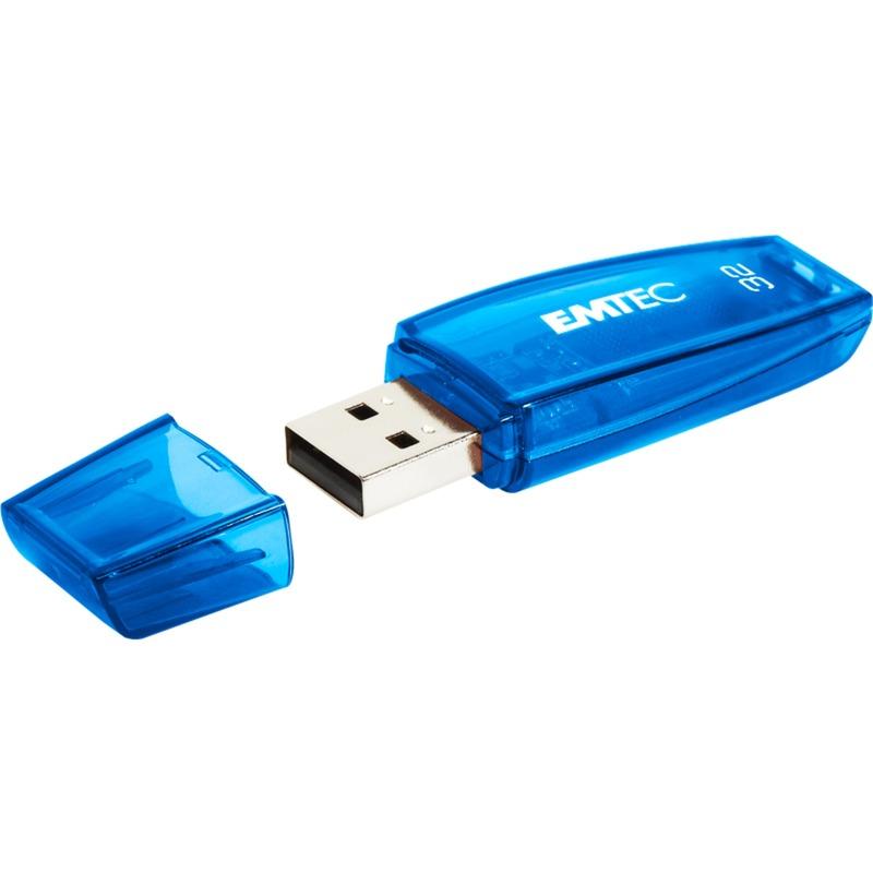 C410 32GB unidad flash USB USB tipo A 2.0 Negro, Lápiz USB