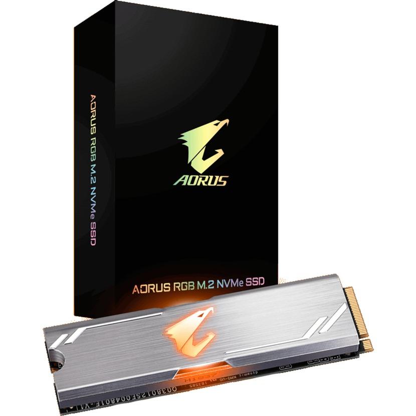 Aorus RGB unidad de estado sólido M.2 256 GB PCI Express 3.0 3D TLC NVMe